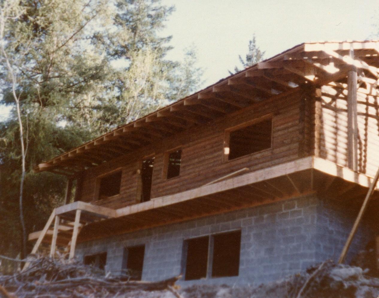 Cedar Log Shell (mid 70's)