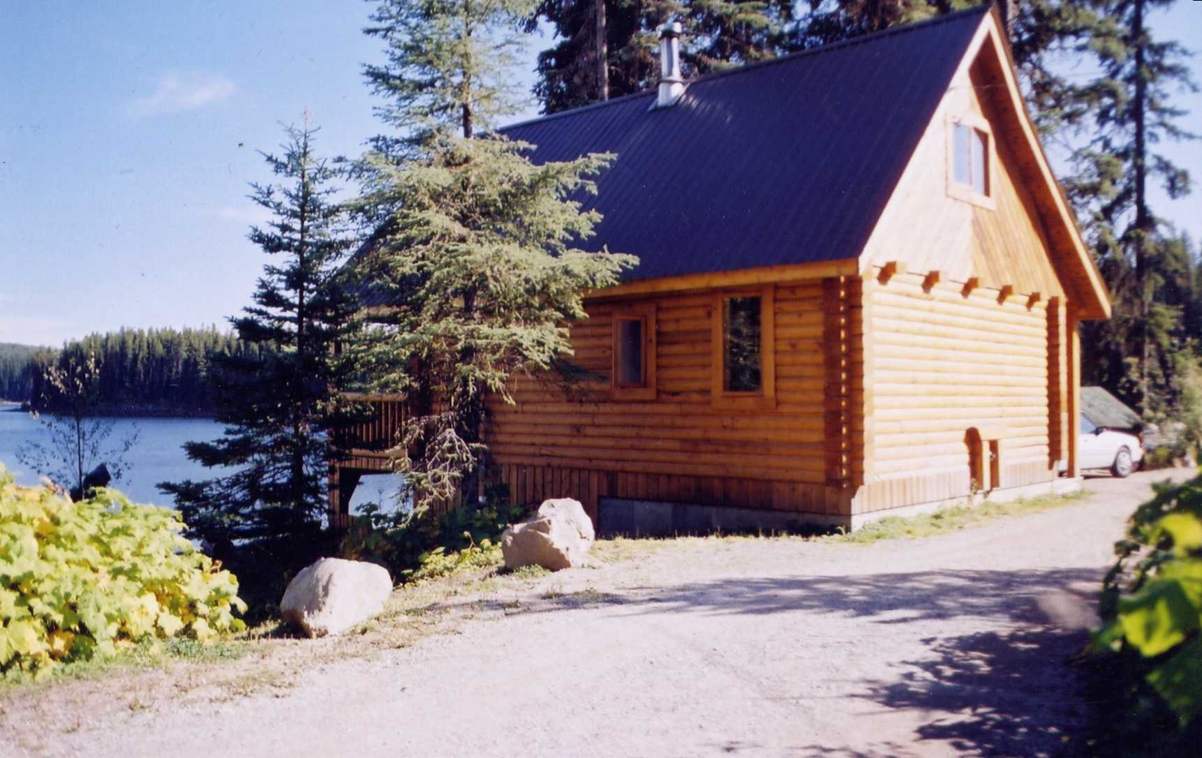480 sq.ft. rental cabin