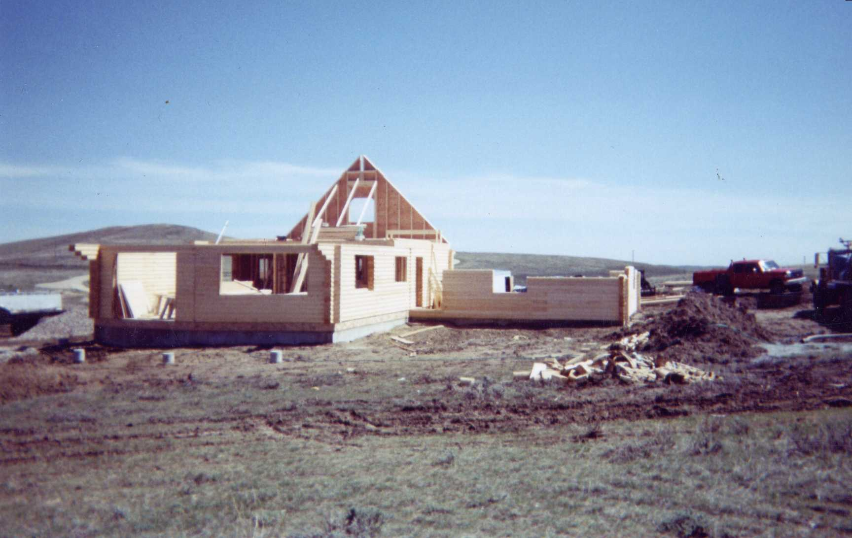 Gable end framing