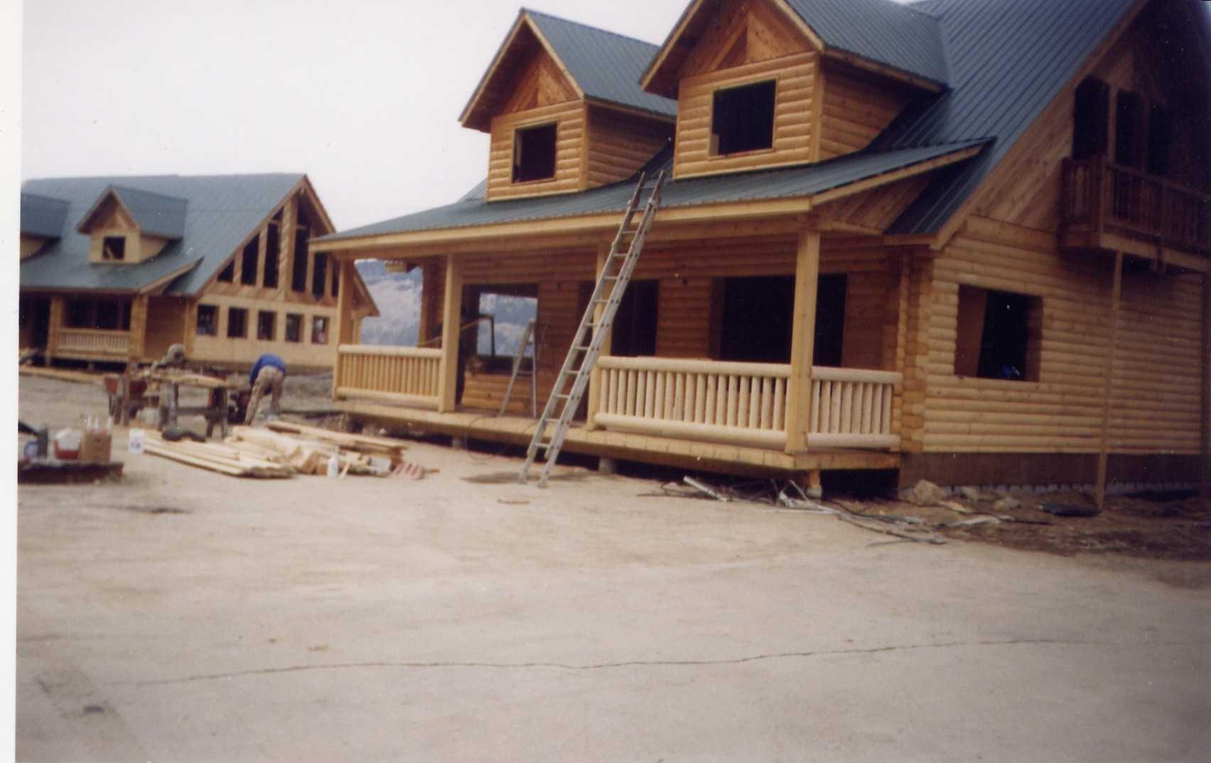 Roofing Complete - railings / trim